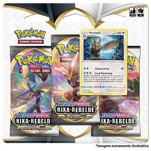 Pokémon Triple Pack - Rixa Rebelde