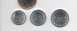 Set Moedas do Laos