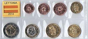 Série de Moedas da Letônia - Euro