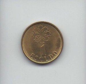 Set de moedas de 1-5-10 escudos de Portugal