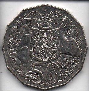 Moeda de 50 cents de 2012 da Austrália