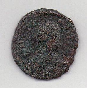 Moeda do Império Bizantino - Justino I ano 518-527