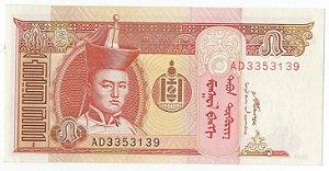 Cédula de 5 Tugrik da Mongólia