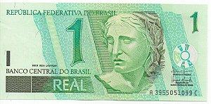 Cédula de 1 Real do Brasil