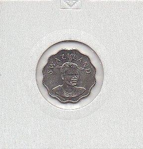 Moeda de 5 cents da Swazilandia