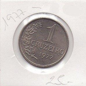 Moeda de 1 Cruzeiro de 1977