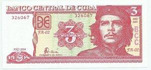Cédula de Cuba 5 Pesos