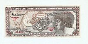 Cédula de 5 Cruzeiros - Índio