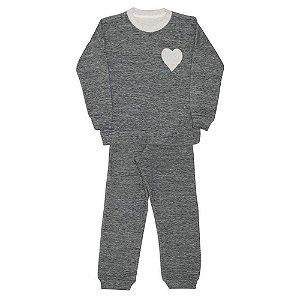 Dedeka Pijama Infantil Conjunto Fleece Double Face Menina