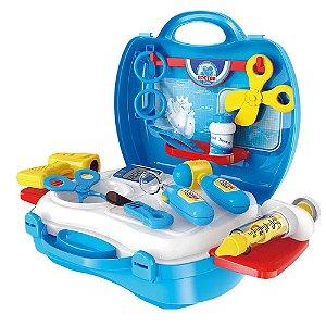 Brinquedo Maleta Medico Workshop Junior Profissões