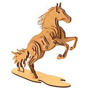 Quebra cabeça de madeira Animais 3D Cavalo