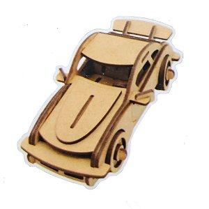 Quebra Cabeça De Madeira Carros 3D Porsche 911