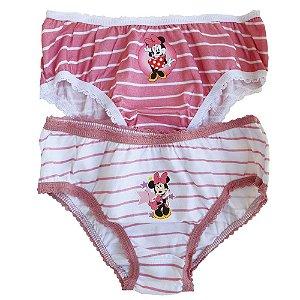 Calcinha Infantil Lupo Tema Da Disney Kit Com 2 Calcinhas MINNIE 2