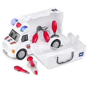Caminhão De Primeiros Socorros Workshop Junior Truck