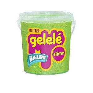 Balde Slime Color Gelelé Glitter 457G