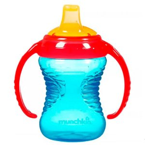 Copo Treinamento Mighty Grip Azul/Vermelho Munchkin