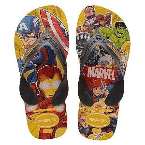 Havaianas Infantil Top Marvel Vingadores Chinelo Original