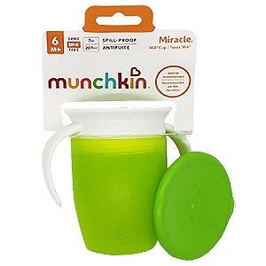 Copo de treinamento 360 Miracle Munchkin Verde