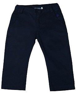 Calça infantil masculino Empório Baby sarja azul marinho