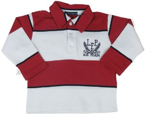 Camisa infantil masculino Empório Baby polo manga longa eb