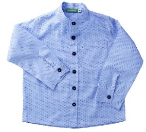 Camisa bebê mini poá
