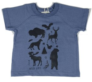 Camiseta infantil masculino que te encante mc wild