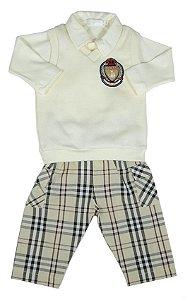 Conjunto Bebê Menino Empório Baby trio saint john