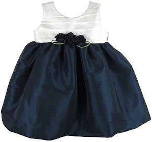 Vestido de Festa bebê  tomas bicolor tamanho GG