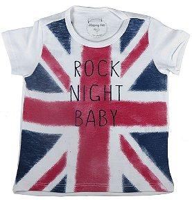 Camiseta infantil Promoções Sleeping Pill born to rock