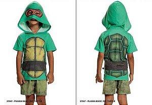 Pijama infantil Sleeping Pill divertido tartaruga ninja