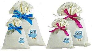 Embalagem para presente Kids na net ecológica