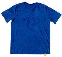 Camiseta infantil meia malha alto relevo heróis 100% algodão - Oliver