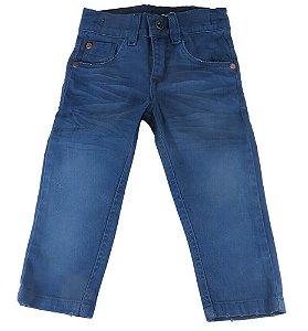 Calça infantil masculino Oliver sarja infantil azul noite