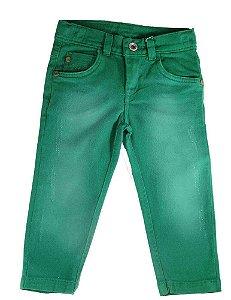 Calça infantil masculino Oliver Sarja Infantil Verde