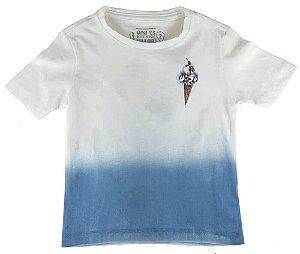 Camiseta Infantil Menino Mini US Skull Ice cream -