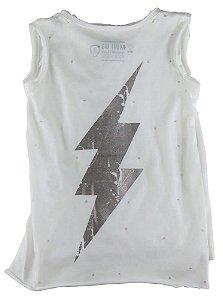 Camiseta regata infantil feminina Mini US infantil thunder -
