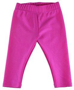 Legging infantil Menina Le Fru Fru cirre pink