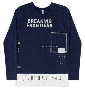Camiseta Infantil Johnny Fox Longer Breaking Frontiers