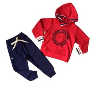 Conjunto infantil Bugbee Moletom Fighting force