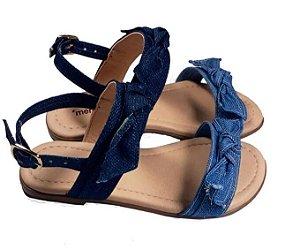 Sandália infantil Menina Rio jeans -