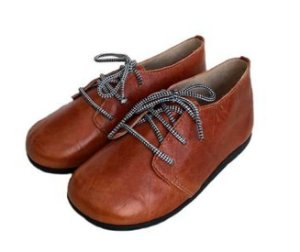 sapato infantil Babo Uabu masculino marrom new wave shoes