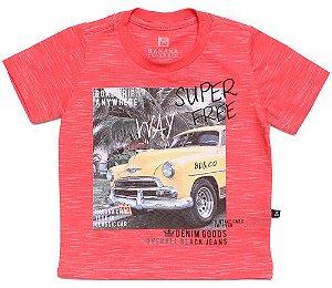 Camiseta infantil Banana Danger masculina Havana Free Way