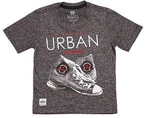 Camiseta infantil masculino Banana Danger sneakers