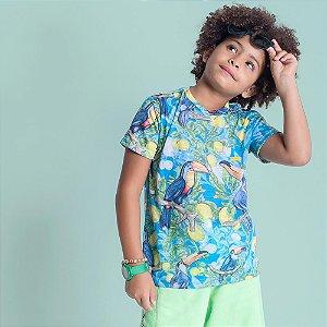 Camiseta Infantil Oliver Jr Tucanos e Limões