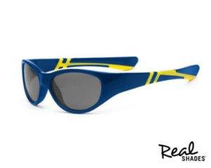 Óculos De Sol Discover Azul E Amarelo Real Shades
