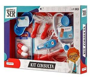 Brincando de ser médico kit consulta multikids