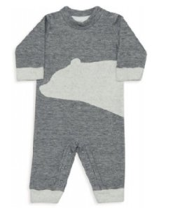Macacão Fleece Double Face Infantil Urso Dedeka Unissex