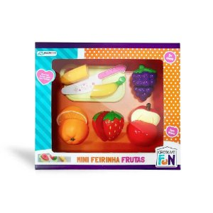 Creative Fun Mini Feirinha Divertida Frutas De Velcro