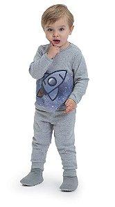 Pijama infantil Dedeka de ribana foguete