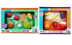 Creative Fun Feira Divertida Frutas E Legumes De Velcro